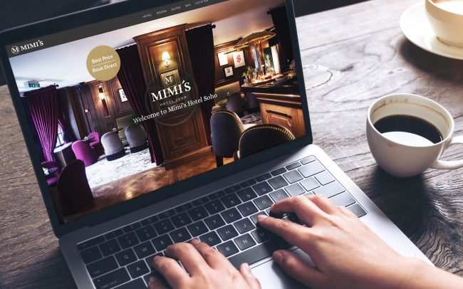 Mimi's Hotel Soho website