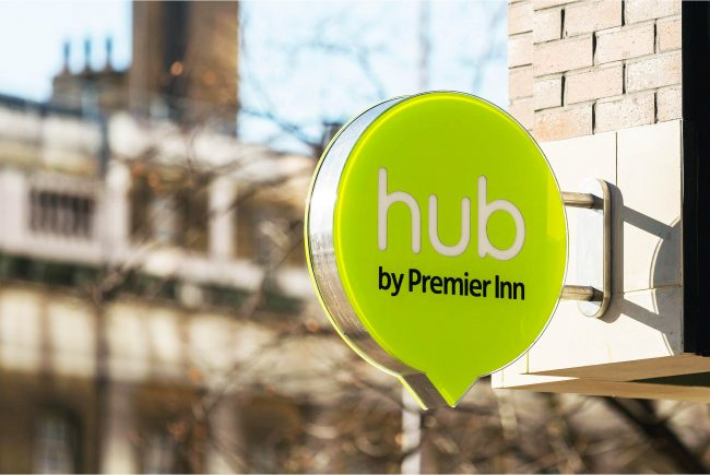 hub signage